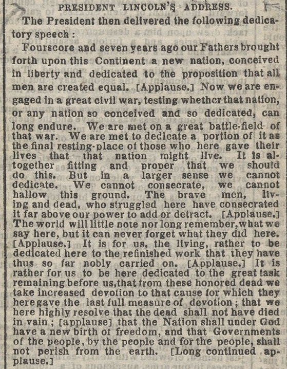 Gettysburg_Address,_New_York_Times
