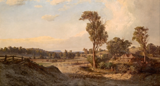 Louis_Buvelot_-_Summer_afternoon,_Templestowe_-_Google_Art_Project