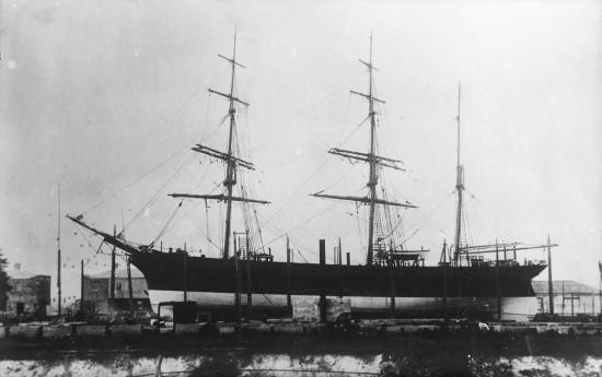Otago_(ship,_1869)_-_NMM_P5194